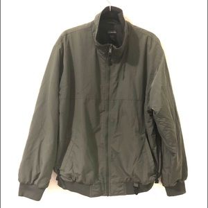 WHITE SIERRA Flight Jacket Army Green Bomber Lined